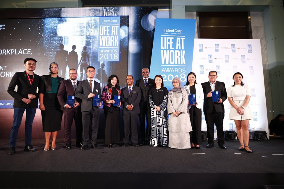 TalentCorp LIFE AT WORK Awards
